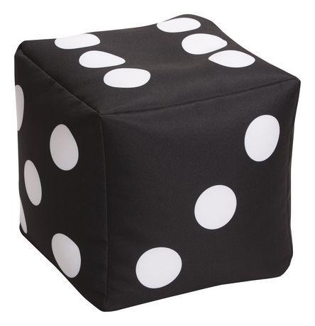 Astounding Sitting Point Cube Dice Beanbag Ottoman Black In 2019 Evergreenethics Interior Chair Design Evergreenethicsorg