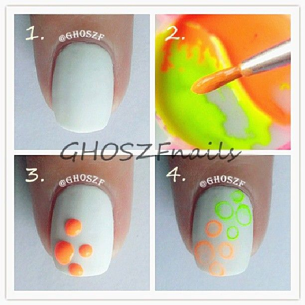 1 Paint Your Base Color 2 Mix Acrylic Paint Or Nail Polish With Water Same Amount Of Each 3 Put Do Nail Tutorials Water Marble Nail Art Cosmetics Sponge