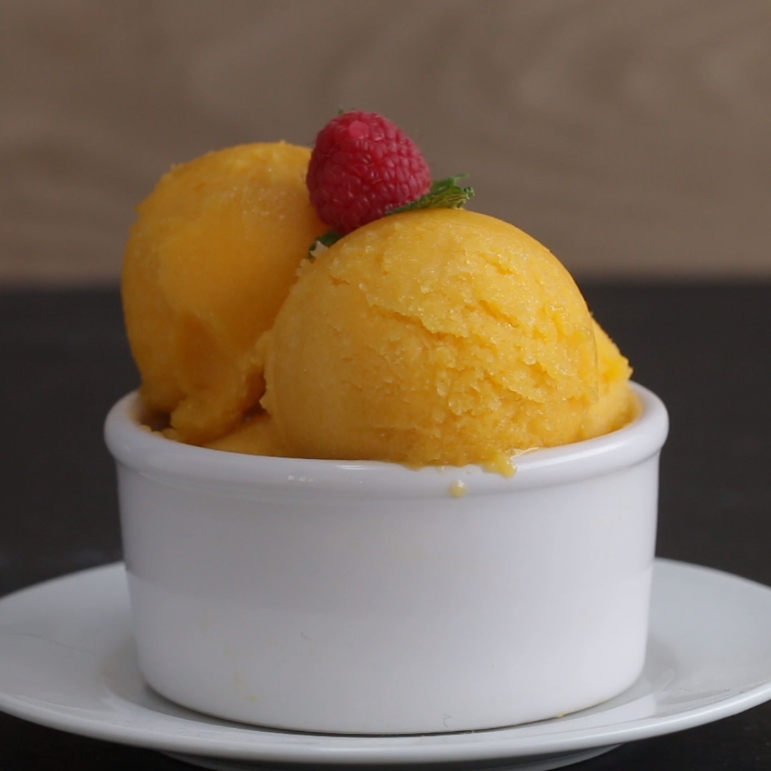 Photo of Mango-Sorbet