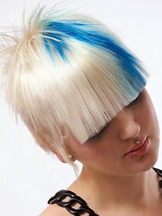 New Edgy Hairstyles Ideas For Women Punk Hair Color