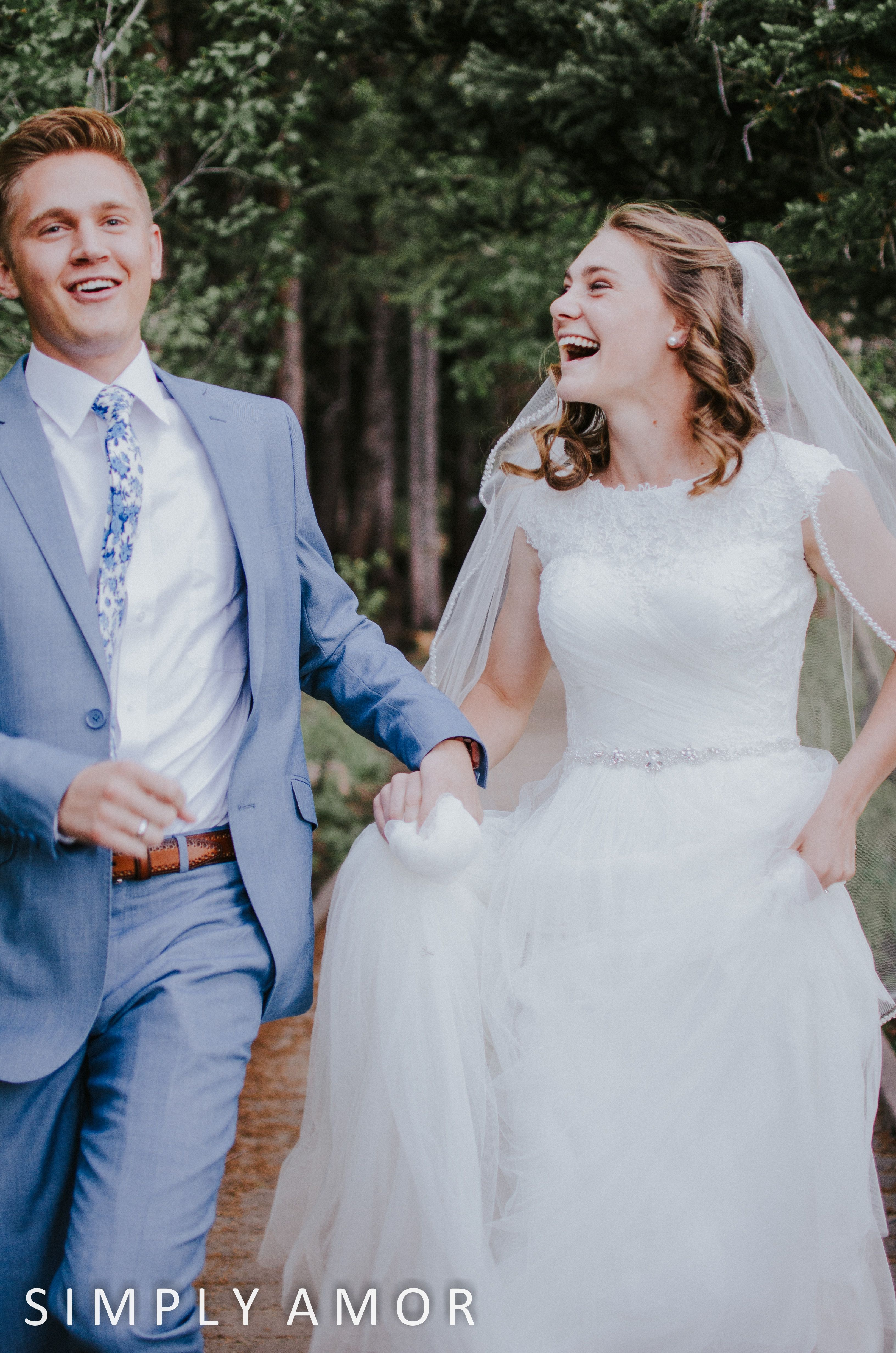 Mirror Lake | Mountain Wedding Utah | July Adam | cute candid moment ...