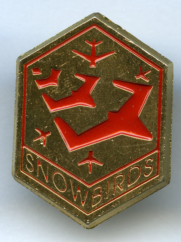 Snowbirds Crest Cards, Snowbird, Crest