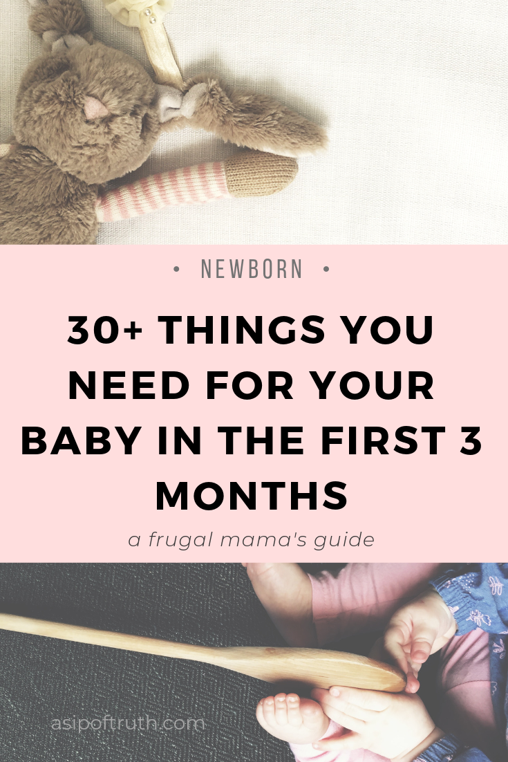 A practical list of things to buy for baby. Here are some ...