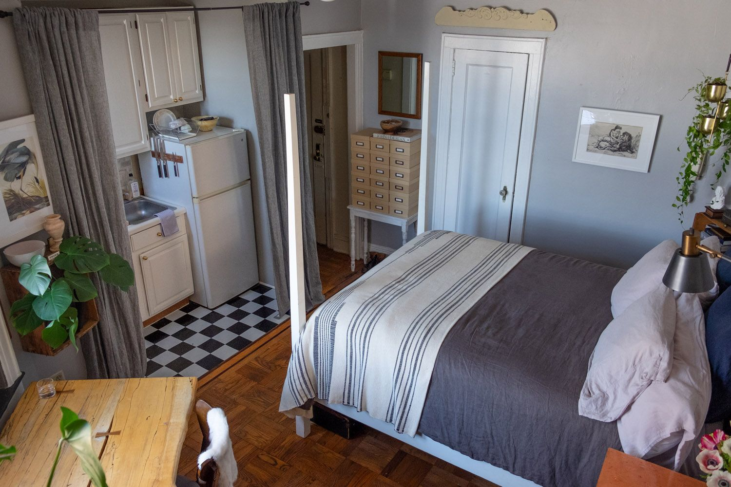 West Elm A Very Small Apartment Gets A Big Kitchen Makeover