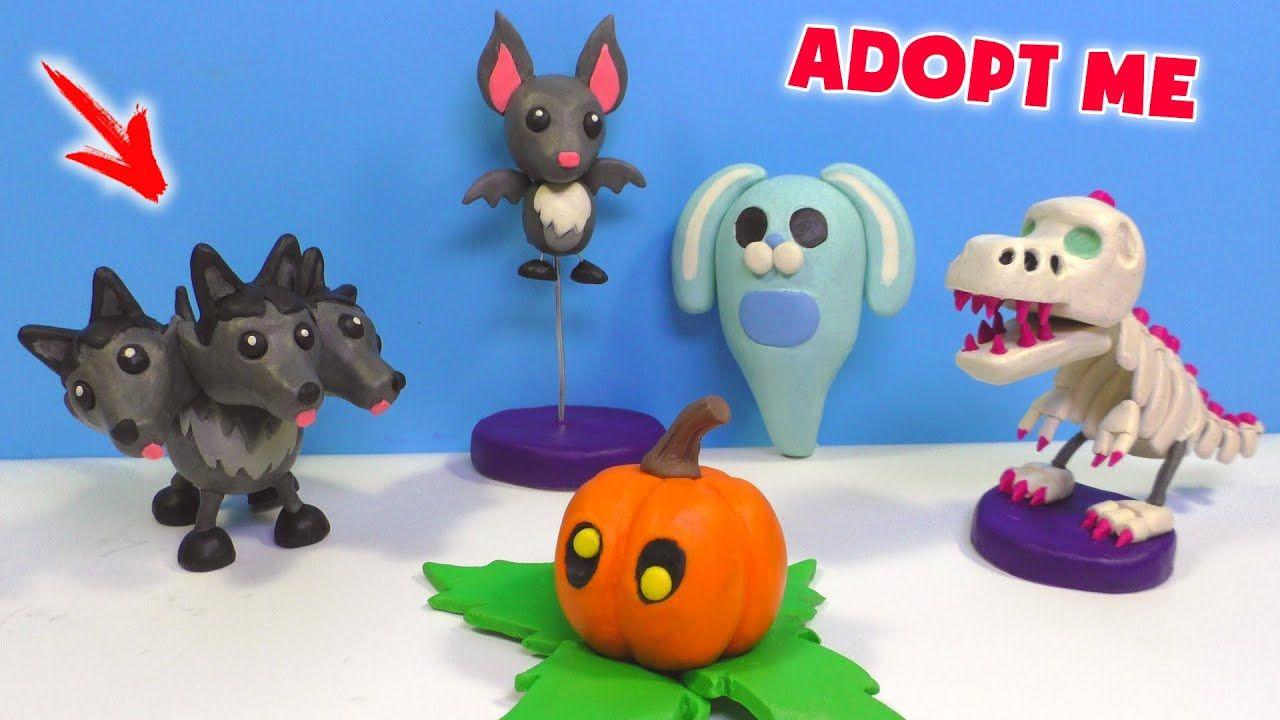 Halloween Bastelideen Youtube.All Pets Adopt Me Halloween With Clay Roblox Youtube Pet Adoption Halloween Animals Adoption