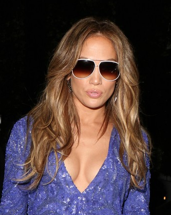 8a09583e30a Jennifer Lopez in Condor Two Eyewear Trends