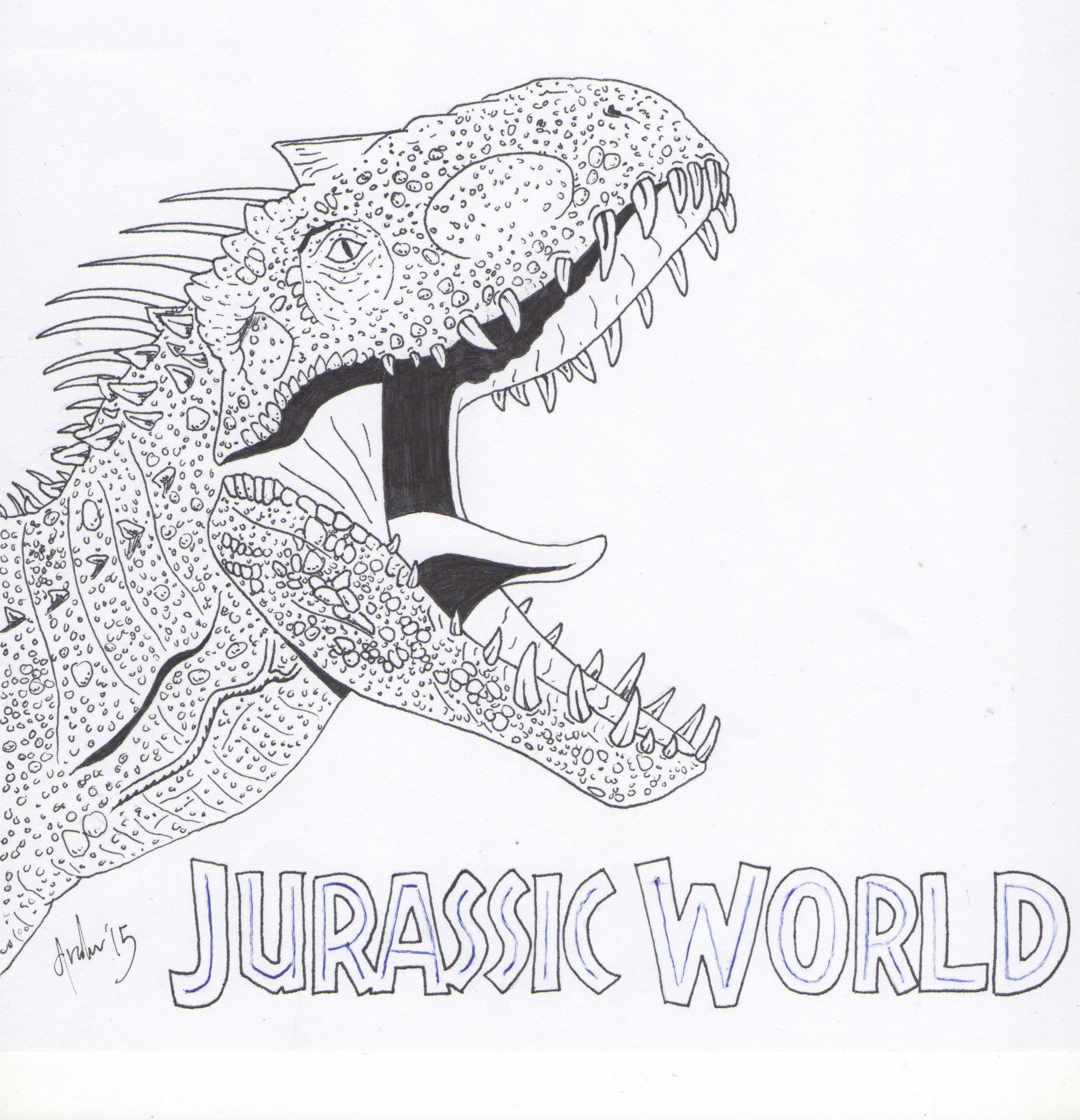 30 Fresh Jurassic World Coloring Pages In 2020 Coloring Pages