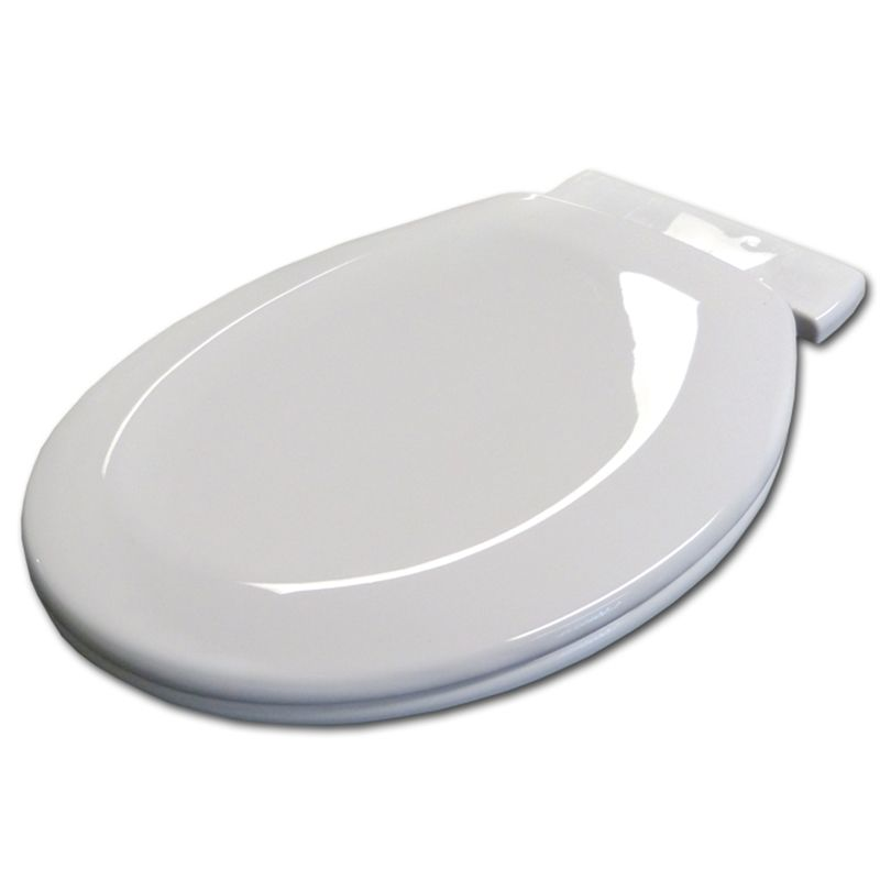 Astounding Haron White Heavy Duty Soft Close Toilet Seat With 217Mm Machost Co Dining Chair Design Ideas Machostcouk