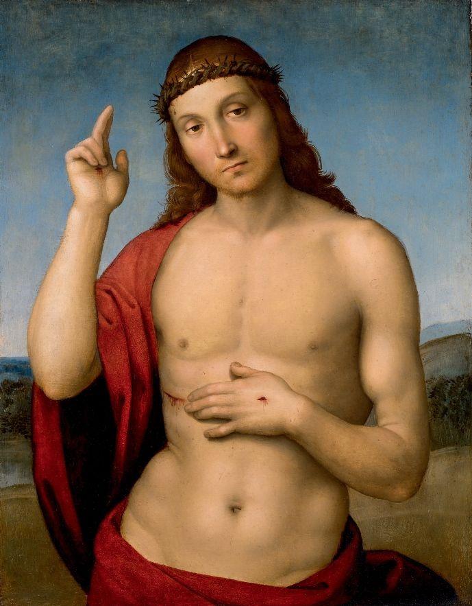 "Resultado de imagem para CRISTO ABENÇOANDO"" (1506), de Rafael"