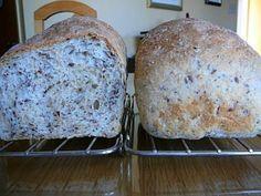 Pain de grain de campagne au robot boulanger de Fatiquante - J'ai une bonne recette de pain que je fait au moins une fois par semaine. 2 tasses farine tout usage 1 tasse farine blé entier 1/4 tasse graines d...