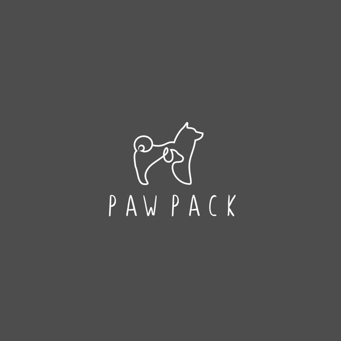 Fun Sophisticated Creative And Simple Logo For Dog Walking And
