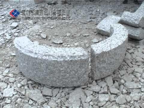 granitt kantstein,granitt murblokk