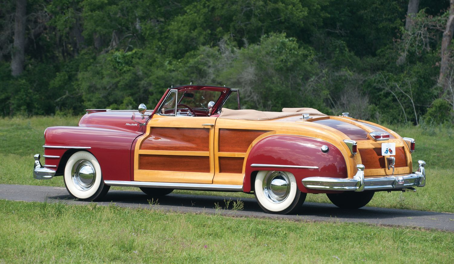 One Of None Chrysler Town And Country Roadster Heads To Au