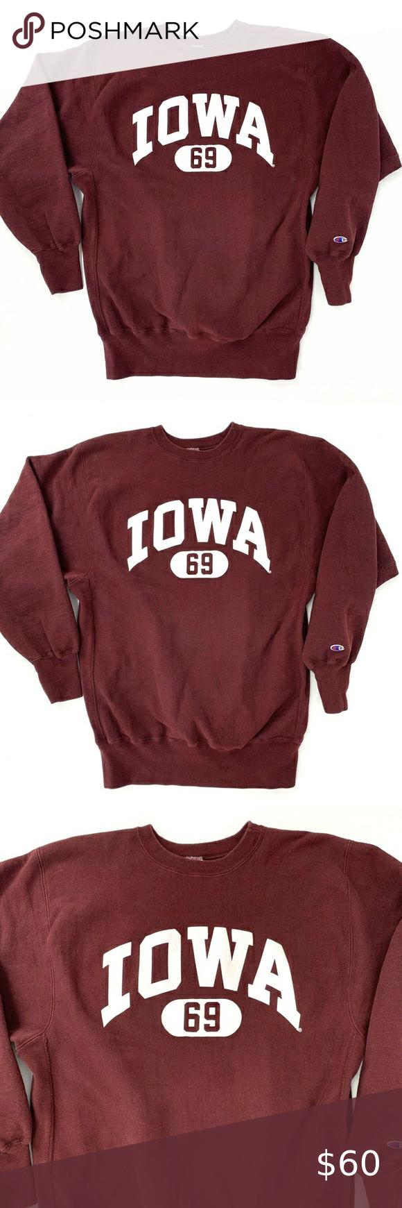 Vintage Iowa Hawkeyes 2xl Reverse Weave Sweatshirt Vtg Iowa Sweatshirt Fast Shipping Vintag Sweatshirts Champion Reverse Weave Sweatshirt Sweatshirt Shirt [ 1740 x 580 Pixel ]