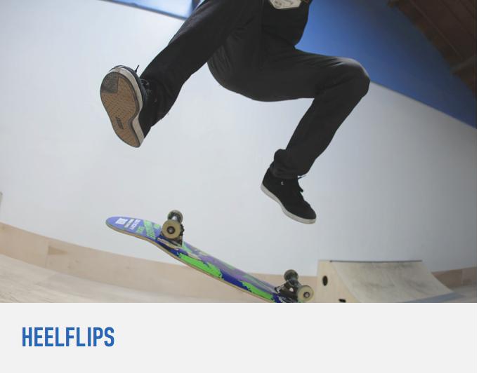 How To Heelflip Learning Tutorial Skateboard