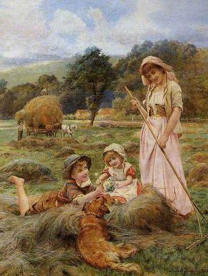 British Paintings: George Hillyard Swinstead - Haymakers