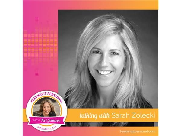 "EMBRACE the ""F"" word!  Sarah Zolecki encourages us to learn in the doing and fail forward.  Fall in love with your life story, the good, bad, and ugly using it to move forward, empower the lives of others. http://bit.ly/KIPiTunes"