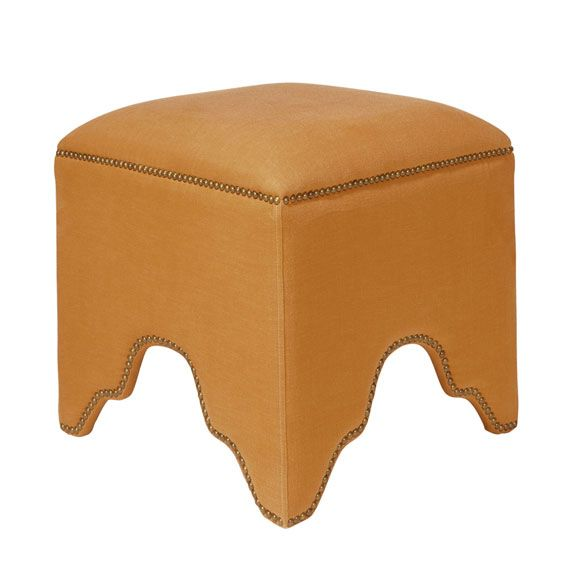 The Fauntleroy Stool Upholstered Ottoman Stool Office