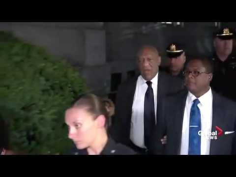 Bill Cosby yells out Fat Albert's 'Hey Hey Hey' as he departs court