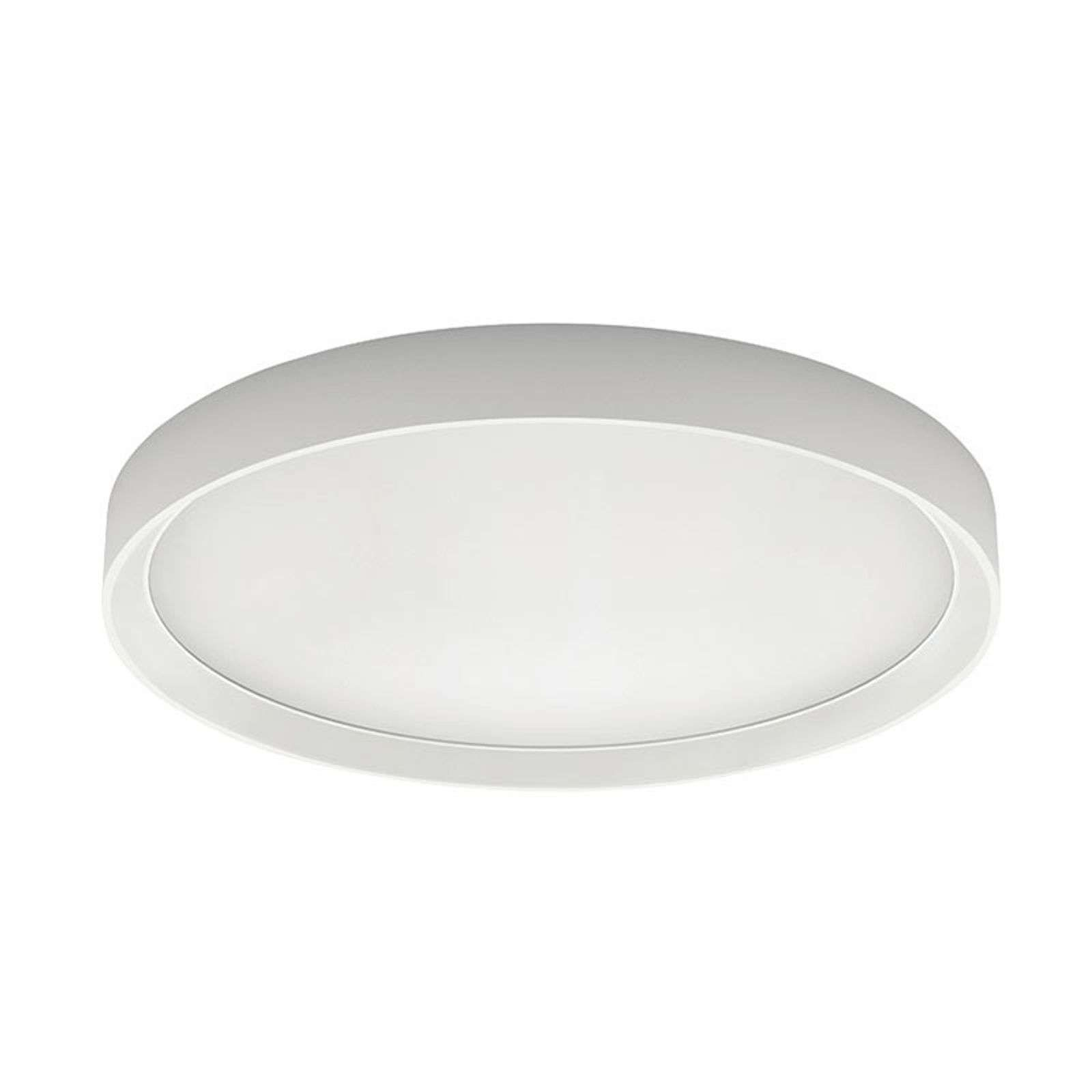 Tara R Led Ceiling Lamp Round O 51 Cm By Linea Light In 2020 Led Ceiling Ceiling Lights Led Ceiling Lights
