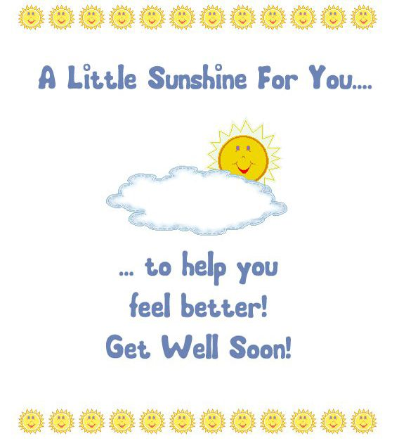 Get Well Soon Card Message Get Well Quotes Get Well Wellness