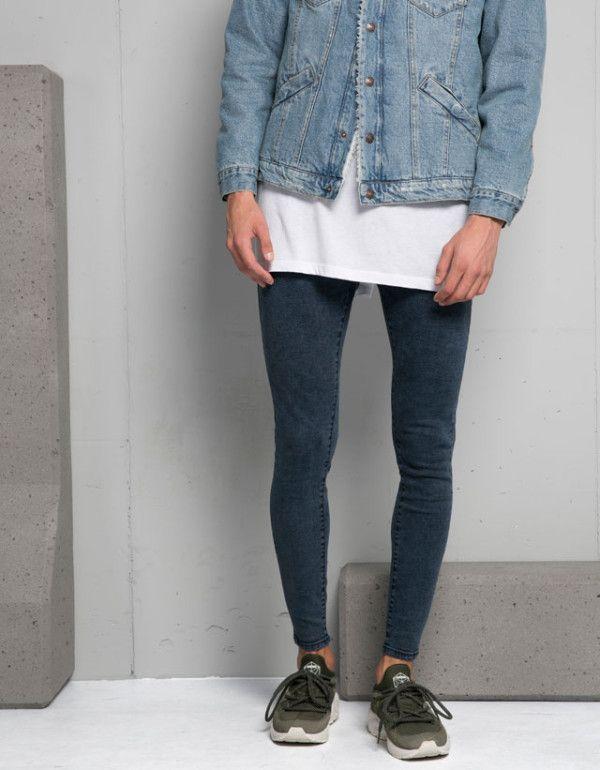 buscar auténtico estilos clásicos cupón de descuento Catálogo Bershka hombre otoño invierno 2015-2016 jeans ...