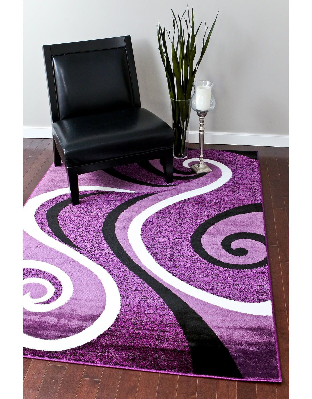 Persian Rugs Abstract Purple Area Rug Reviews Wayfair Purple Rug Purple Area Rugs Rugs On Carpet