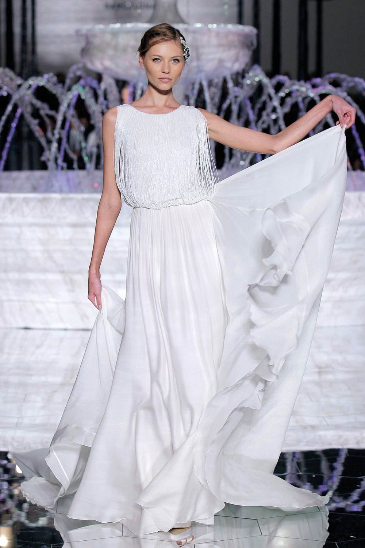Atelier Pronovias 2018 Collection   Flowy wedding dresses, Atelier ...