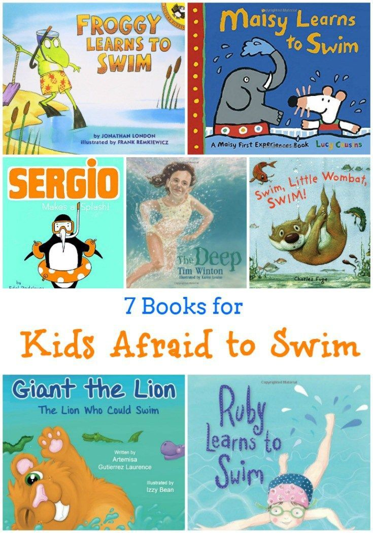 7 Books for Kids Who Are Afraid to Swim | Teach kids to ...
