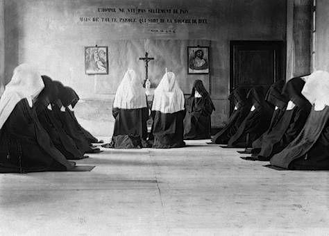 Carmelite nuns at prayer | Order ~ Carmelites | Pinterest ...