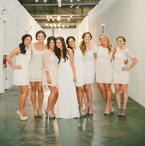 Pretty S Dresses Not Stunning Though White Off Bridesmaid
