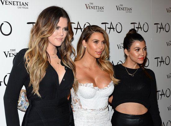 Kloe, Kim, Kourtney Kardashian