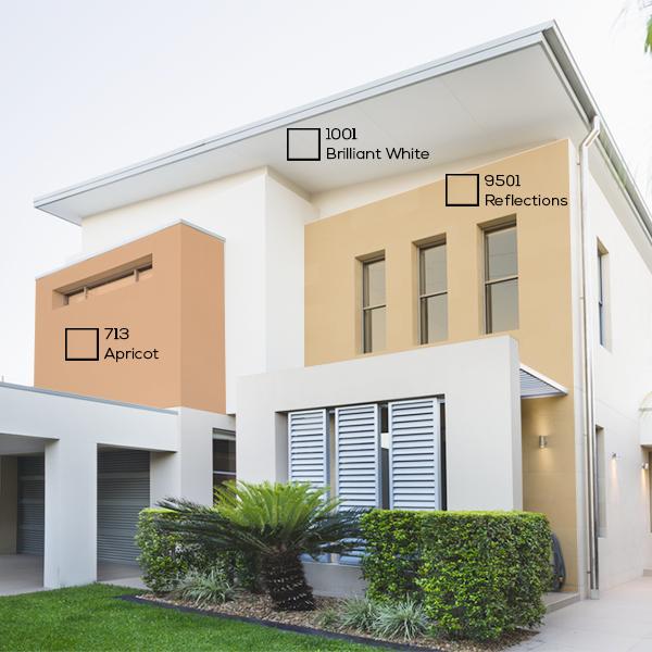 Warna Ini Sangat Cocok Diaplikasikan Di Dinding Eksterior Rumah