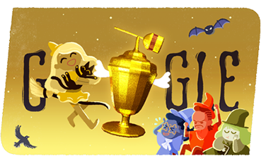 Google Halloween Candy Game With Witches Google