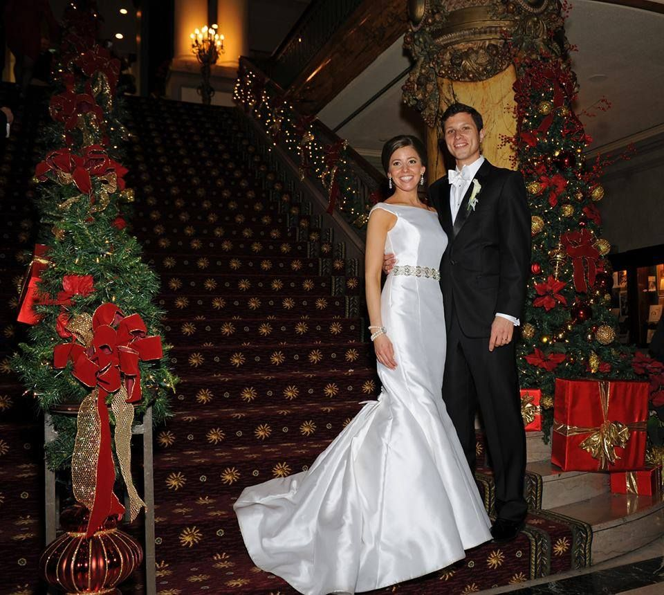 Seams Bride Lauren Looked Absolutely Stunning In Her Victoria Nicole Bridal Gown For Her Jeffersonhotel Winter Wedding Her Bride Bridal Gowns Wedding Dresses