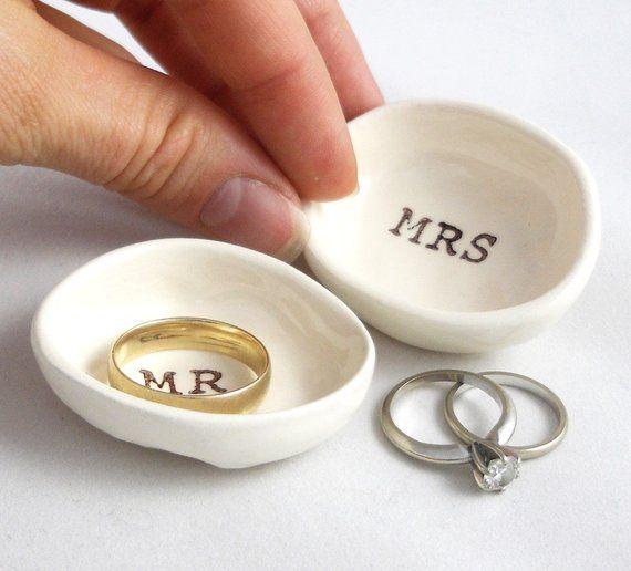 Handmade Wedding Ring Holder Gift For Bride Groom Gift For