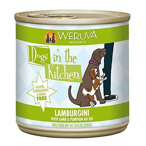 Weruva Dogs In The Kitchen Lamburgini With Lamb Pumpkin Au Jus Dog Food 10oz Can Pack Of 12 Amazon Most Truste Dog Food Recipes Wet Dog Food Canned Dog Food