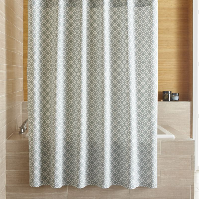 Raj Blue Shower Curtain