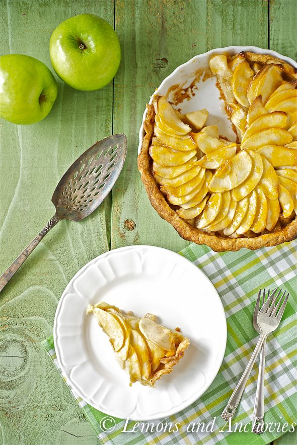 Apple-Banana Tart (1) From: Lemons And Anchovies, please visit
