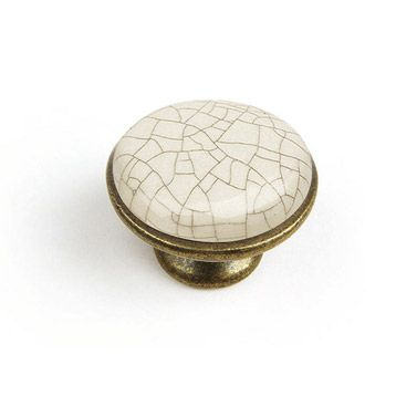 Bouton De Meuble En Porcelaine Brillant Bouton De Meuble