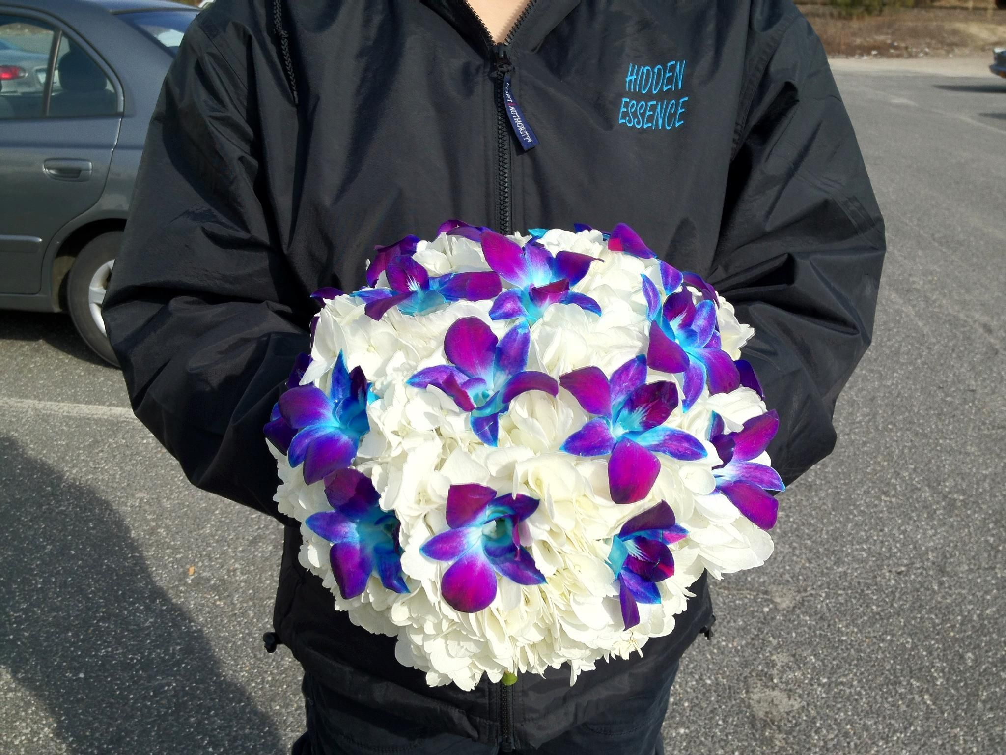 Pin By Hidden Essence On Wedding Bouquets Blue Orchid Centerpieces Wedding Bridal Bouquets Orchid Centerpieces