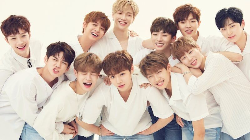 Wanna One S First Group Profile Photos Have Been Revealed On July 6 The Group S Social Media Accounts Uploaded Images Of The Members Deck Kpop Boy Groups One