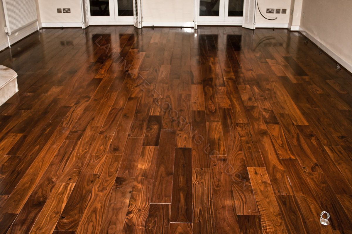walnut wood floors walnut solid wood flooring and stairs in canary wharf e14