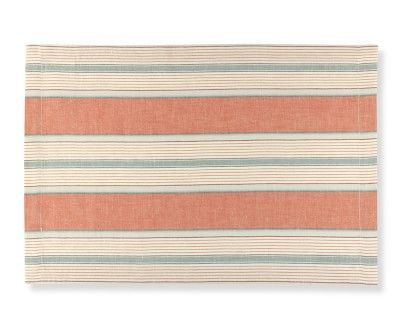 Capri Stripe Place Mats, Set of 4 #williamssonoma