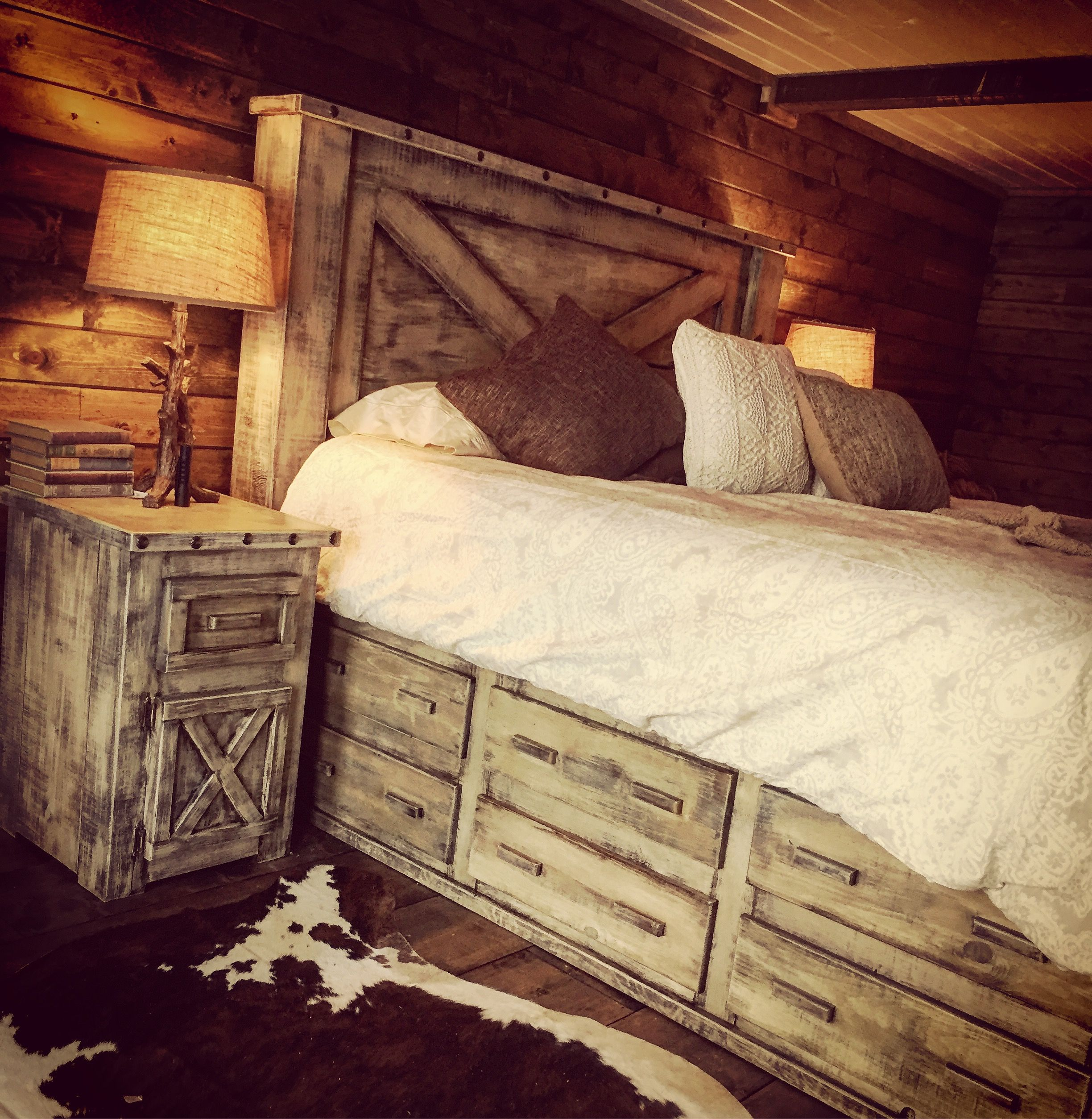 My beautiful drawer platform bed from