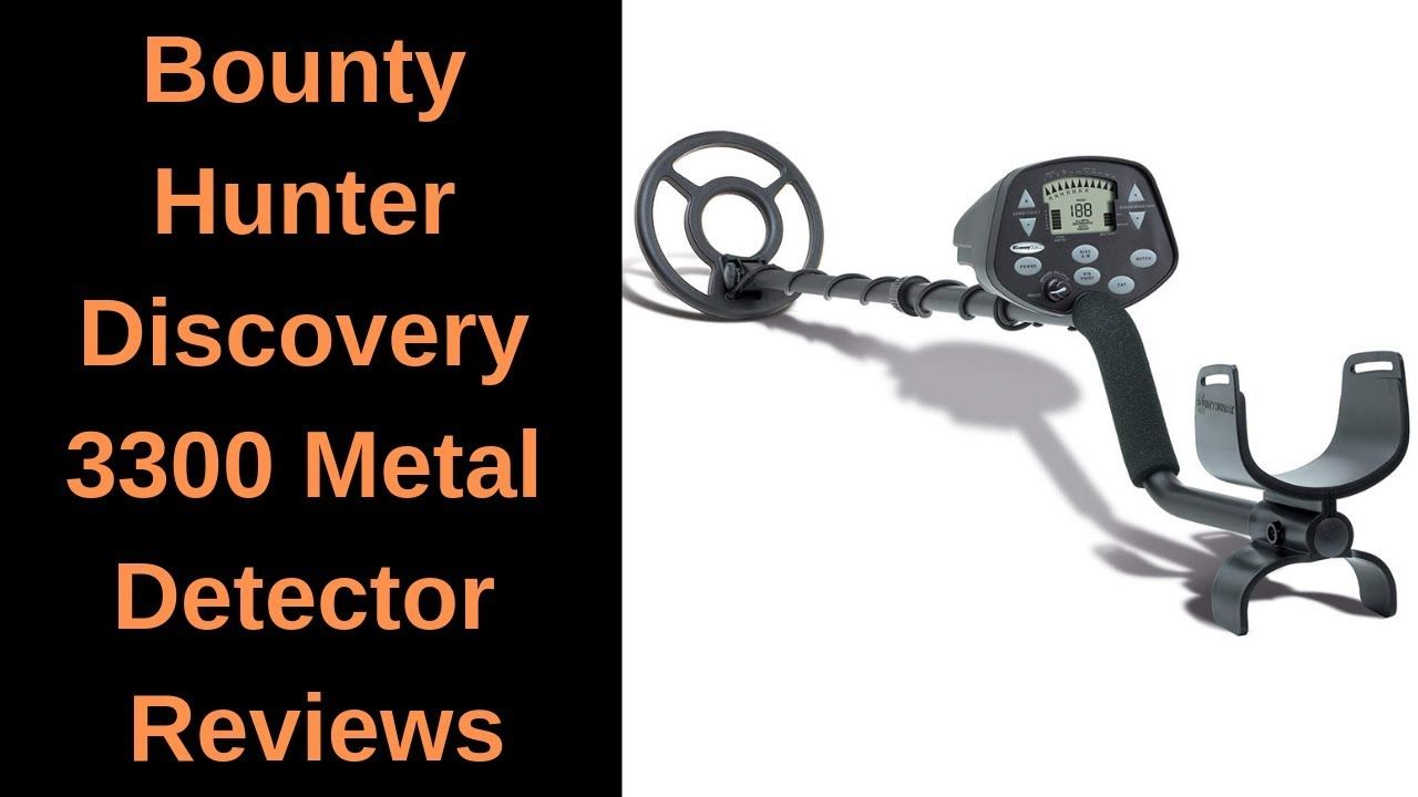 Bounty hunter discovery 3300 metal detector reviews