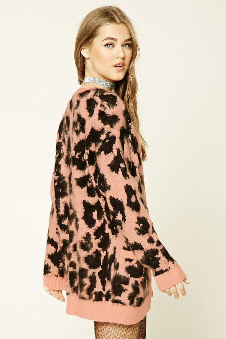 Leopard Print Cardigan - Forever 21 EU | Style | Pinterest ...