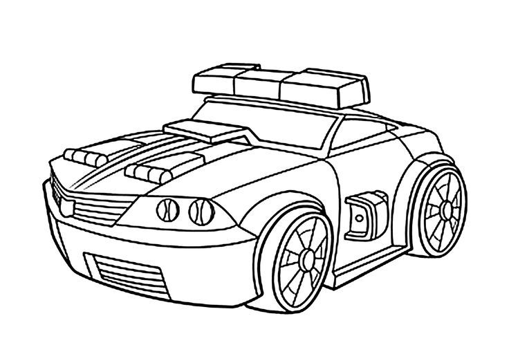 Chase police bot coloring pages for kids, printable free u2013 Rescue - new coloring pages for rescue bots