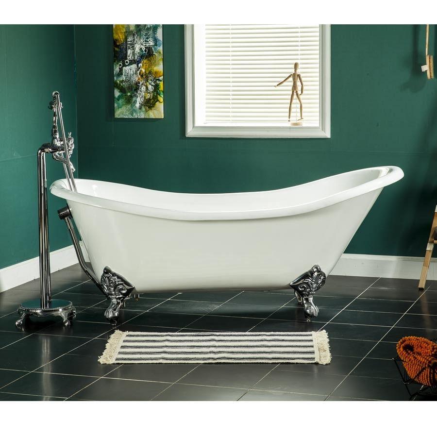 BREGENZ 170cm Claw feet Bathtub Enamel Cast iron | Bathtubs ...