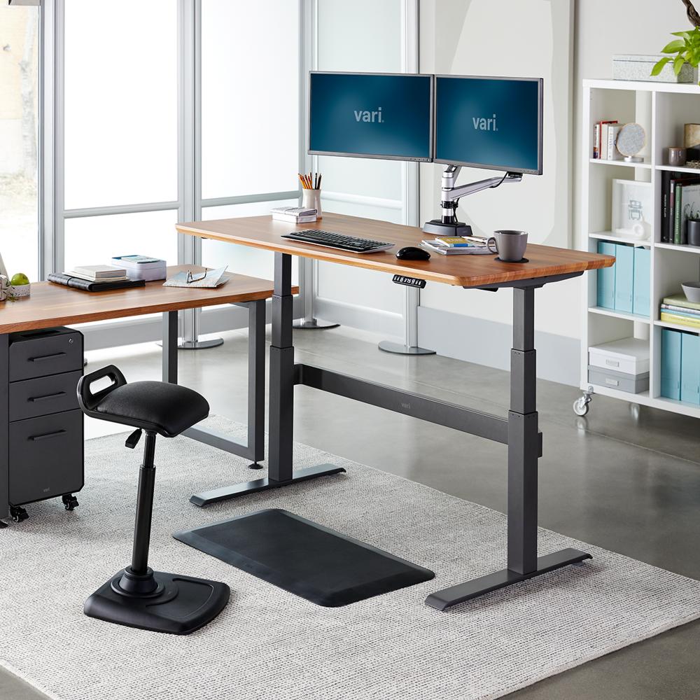 Electric Standing Desk 60x30 Sit To Stand Adjustable Desk Vari Stehpult Schreibtisch Elektrisch